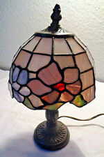 Antique ART DECO TIFFANY LAMP BRONZE CEILING LAMP PLAFONNIERE Lamp Ø 45cm Bronce
