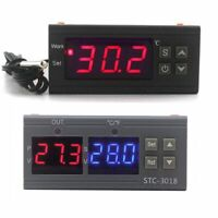 Digital Temperature Controller Thermostat Thermometer Incubator Relay Output NEW