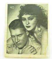 ".SUPER RARE 1930s AUSTRALIAN "" CUSTOZA CUSTARD "" PARAMOUNT PICTURES SCENES CARD"