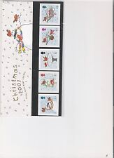 2001 ROYAL MAIL PRESENTATION PACK CHRISTMAS ROBINS MINT DECIMAL STAMPS