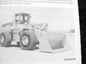 ORIGINAL CASE 921 WHEEL LOADER TRACTOR OPERATORS MANUAL VERY CLEAN