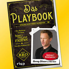 DAS PLAYBOOK | BARNEY STINSON mit Matt Kuhn | How i met your Mother (Buch)