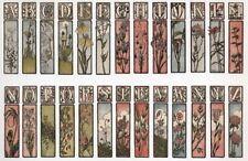 Antique alphabet-78 imprimable des images pour papier & fabric-cd-quilting, cardage etc