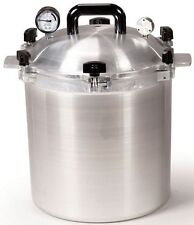All American 925 25 Qt Heavy Cast Aluminum Pressure Cooker / Canner w/ DVD NEW