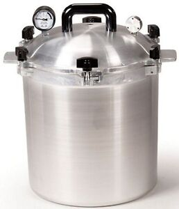 All American 925 25 Qt Heavy Cast Aluminum Pressure Cooker / Canner  NEW