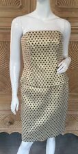 NWOT ESCADA WOMENS VINTAGE GOLD W~STARS OUTFIT PENCIL SKIRT~ BUSTIER SZ 38/8