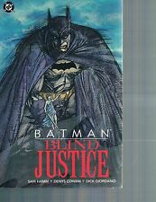 Batman: Blind Justice by Sam Hamm 1992 TPB DC Comics 1st Print