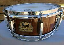 "Pearl Omar Hakim Signature Series Snare Drum African Mahogany 13"" x 5"" Superhoop"