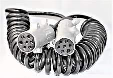 Anhänger Verlängerung Kabel 7polig LKW Verbindungsspirale Metall 3,5 m