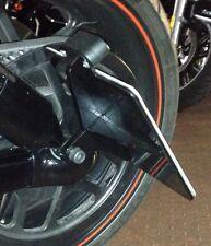 Harley Davidson Sportster V-Rod Seitlicher Kennzeichenhalter schwarz matt