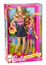 New Rare Set Barbie Sisters - Sisters Go Fishing - Barbie And Stacie