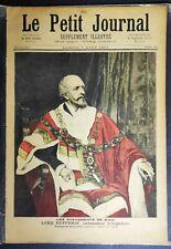 Le Petit Journal 1893 Siam Ambassador of England -Lord Dufferin