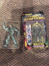 Lot Marvel Toybiz:Shape Shifters: RAGING RHINO & Rhino