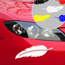 Feathers Style Car Auto Vinyl Decal Sticker Car/Truck/Laptop/Window Decoration