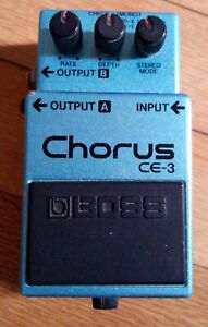 BOSS CE-3 PEDALE CHITARRA '80 CHORUS GUITAR PEDAL (leggere read)