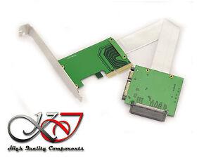 Adattatore Per SSD Nvme U2 SFF-8639 Su Porta Pcie - Flat Corazzata 15cm