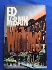 WIDOWS - FIRST EDITION SIGNED BY ED MCBAIN