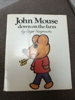 John Mouse Down On The Farm Roger Hargreaves 1973 Book