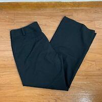 Ann Taylor Petite Women's Pants Sz 10P Black Occasion Career Boot Cut XA43