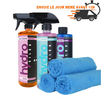 Pack HydroSilex Essentiel 500 ml recharge + rewind +silica soap + 5 microfibres.