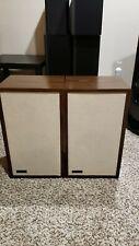 Vintage 1970's Original The Smaller ADVENT Loudspeaker Speaker tested ,Pair