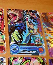 DRAGON BALL SUPER Z DBZ DBS HEROES CARD PRISM CARTE SH7 09 R RARE DBH JAPAN NM>M
