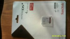 Ninetendo Dsi memory card 4GB size new