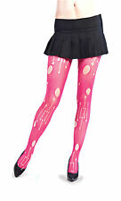 LIP SERVICE CYBER HOT PINK TIGHTS