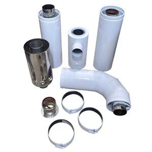 Grant C26 High Level Balanced Flue Kit, White System