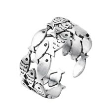 Silver Fish Ring ~ Beautiful Animal Themed Jewellery Finger Ring
