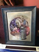 Doctor Who and The Dead Planet. Framed photo. Daleks.