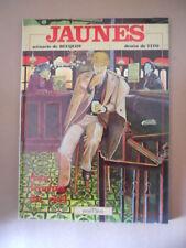 JAUNES de BUCQUOY & Disegni di TITO ed. Glenat 1980 in Francese [Q31]