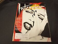 2011 AUGUST INTERVIEW MAGAZINE - FREIDA PINTO FRONT COVER - O 6140