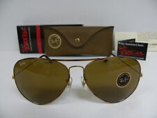 New Vintage B&L Ray Ban Tortuga Large Metal II Gold Tortoise B-15 Brown 62mm NOS