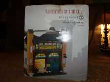 Dept 56 Christmas In The City Village New 2015 Checker City Cab Co 4044789