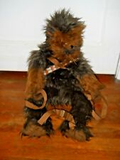 """Star Wars Comic Images Chewbacca Wookiee Backpack Plush 29"""" Large soft adjustabl"""