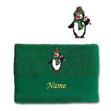 Asciugamani verde con telo da doccia per il bagno 100% Cotone