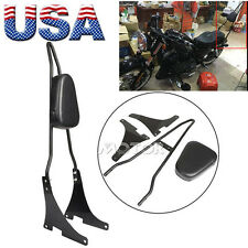 Detachable Passenger Sissy Bar Backrest Fit Harley Davidson Sportster XL883/1200