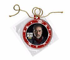 The Walking Dead Negan Jeffrey Dean Morgan Christmas Ornament