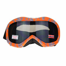 Ski Snowboard Goggles Anti Fog Shatter Proof Gray Lens Camo Print
