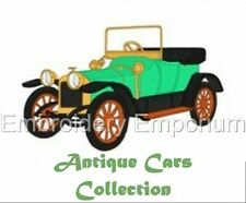 ANTIQUE CARS COLLECTION - MACHINE EMBROIDERY DESIGNS ON CD OR USB