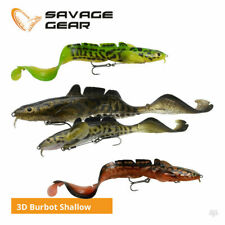 SAVAGE GEAR NEW 2020 3D BURBOT SHALLOW 25CM LURES READY TO FISH  CRAZY PRICE