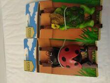 Flower Pot Hugger Hanger - New- LADY BUG and @Turtle-Decoration  🐞