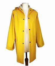 Unisex Ladies/Mens Yellow Mac Raincoat Fishermans Jacket - S M L XL