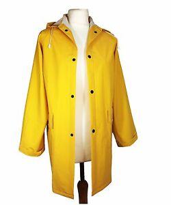Unisex Ladies/Mens Yellow Mac Raincoat Fishermans Jacket - S M L XL 2XL 3XL