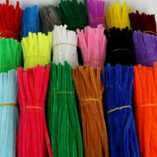 Stems Kids 100PCS Plush 5MM Toy Pipe Chenille DIY Cleaners Children Educational