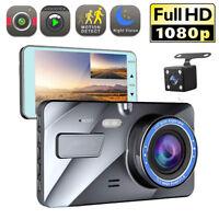 "4"" Vehicle 1080P Car Dashboard DVR Camera Video Recorder G-Sensor Dash Cam"