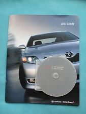 2007 Toyota Camry 28-Page Sales Book & iGuide Interactive CD-Rom
