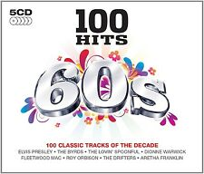 100 Hits - 60's 5 (The Yardbirds, Otis Redding, The Everly Brothers,...) CD NUOVO