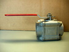 """FLOWSERVE WORCESTER 2"""" 4466RTSE STAINLESS STEEL BALL VALVE"""